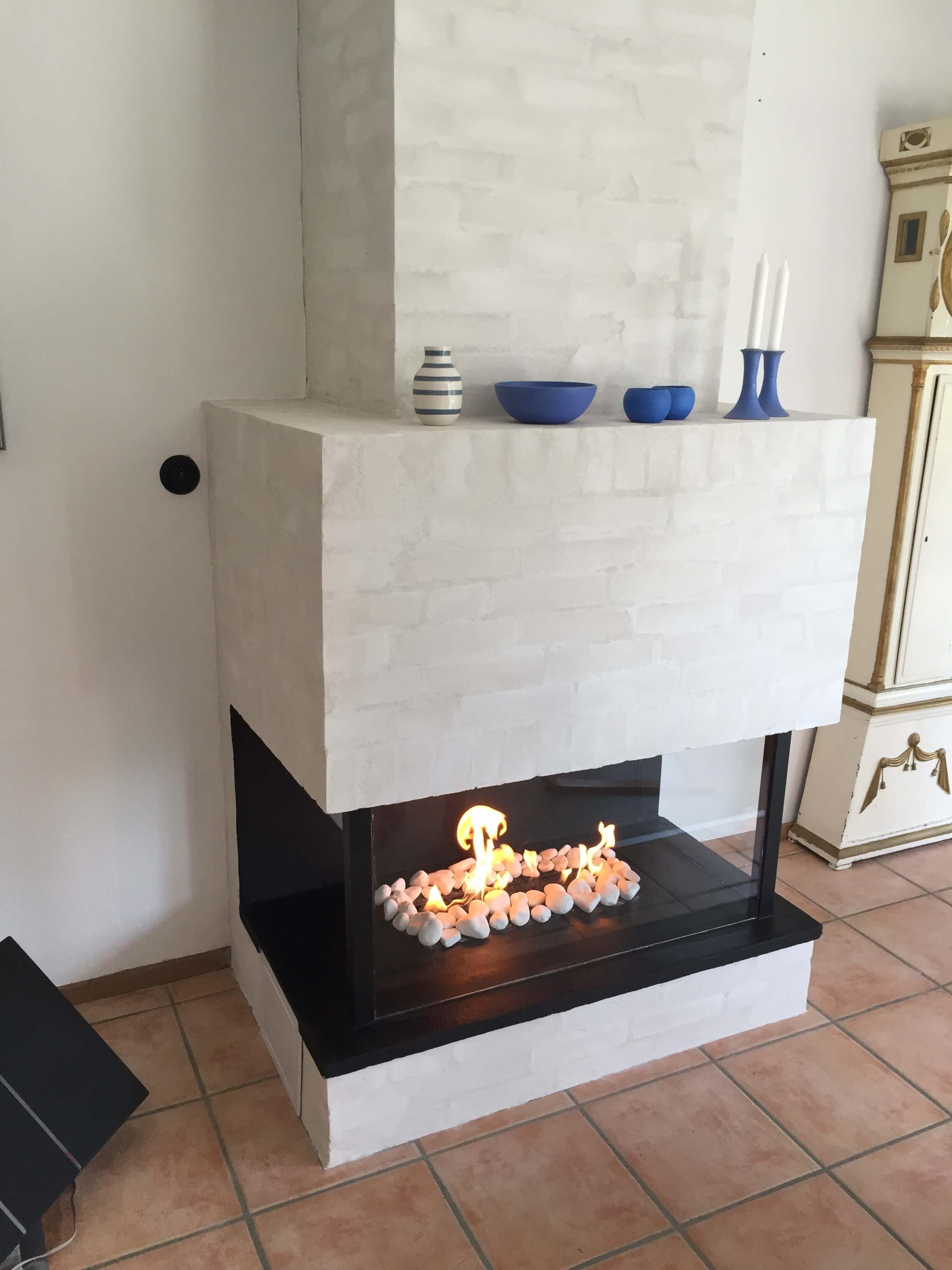 Gasbrænder Flammedekoration
