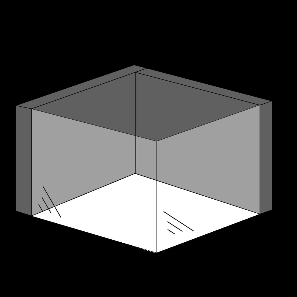 Gaspejs med 2 sider