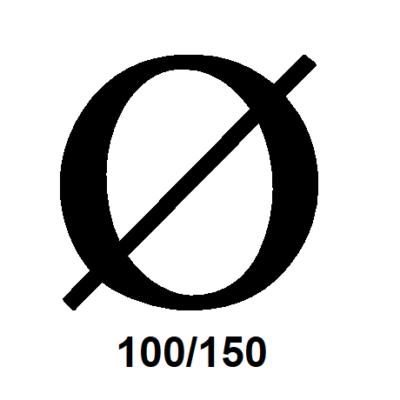 Balanceret aftræk Ø100/150