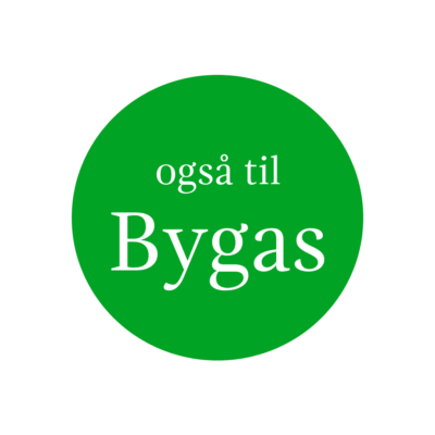 Gaspejse til Bygas