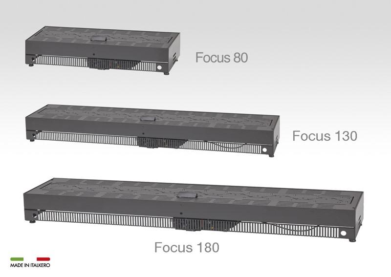 Focus 80 udendørs gaspejs