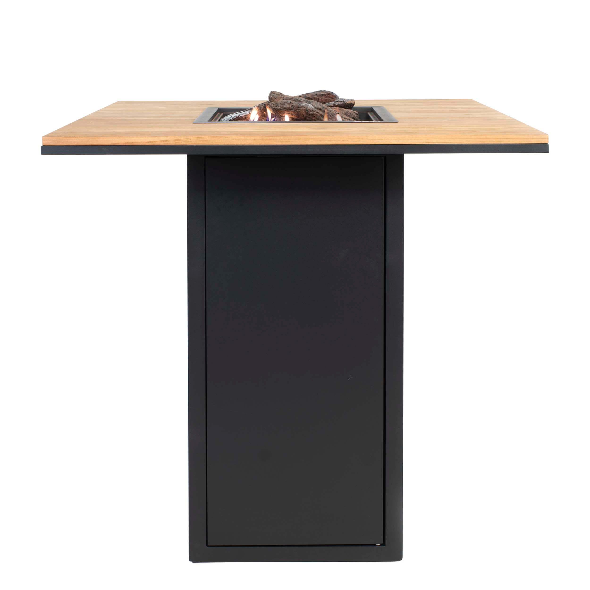 Cosiloft 100 Bar Table Sort-Teak