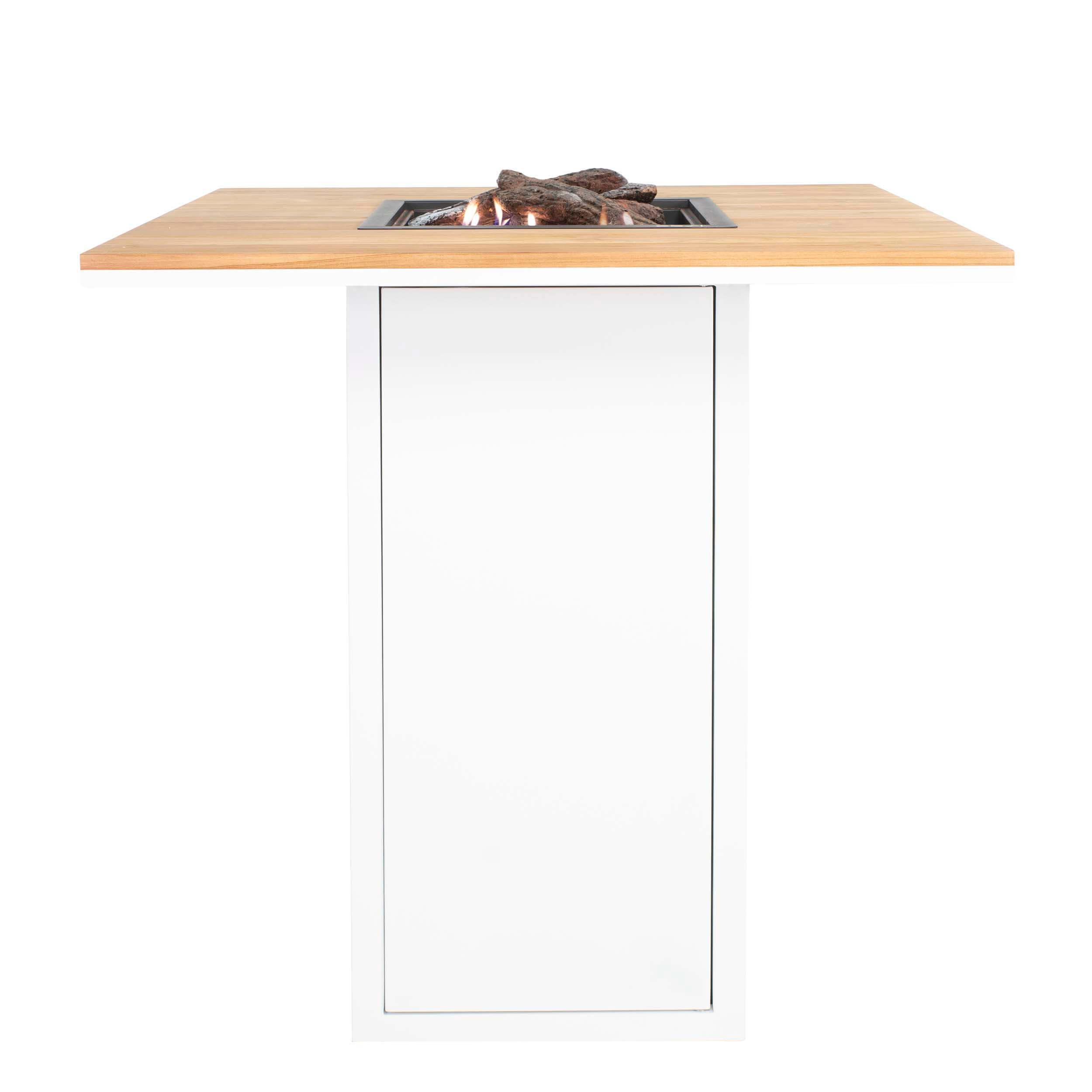 Cosiloft 100 Bar Table Hvid-Teak