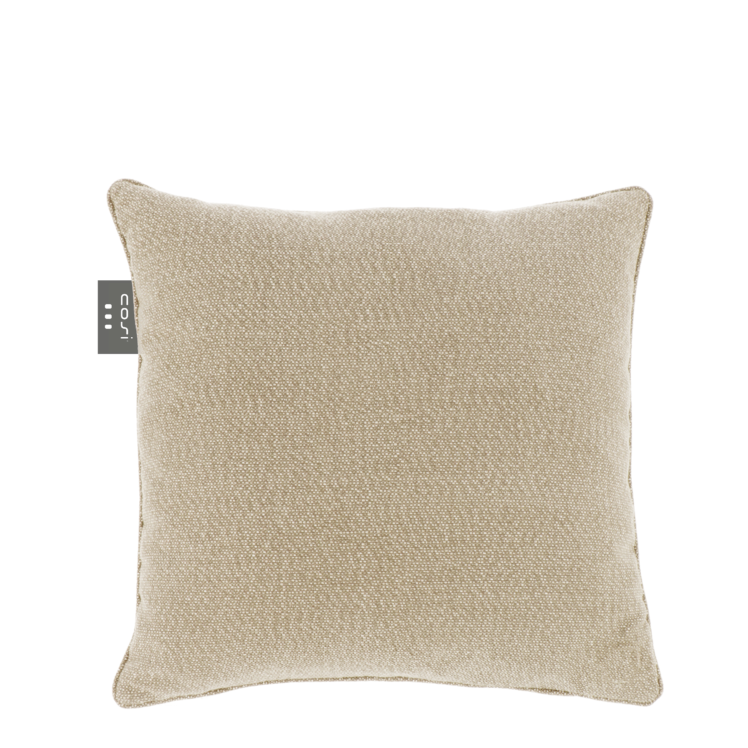 Cosipillow m/varme – knitted ash 50x50cm